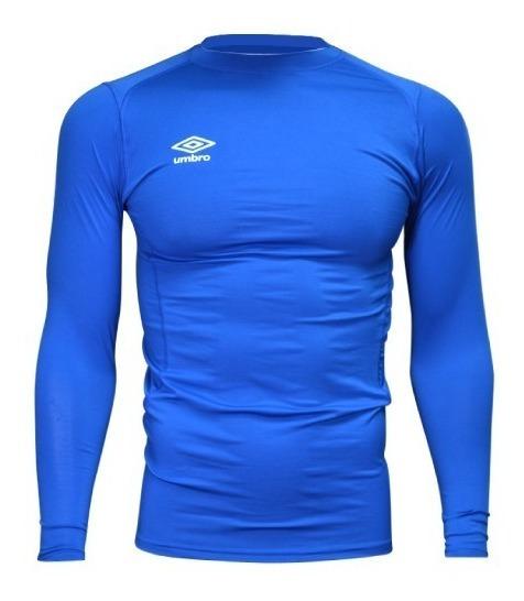 Camiseta Térmica Umbro Manga Larga Fútbol Rugby Running