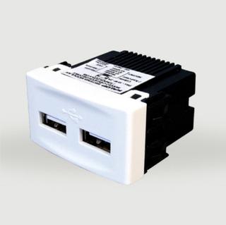 Módulo Cargador Rápido Doble Usb 2 Amp. Para Plaquetas Kalop