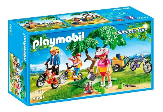 Paseo En Bicicleta De Montaña 6890 - Playmobil