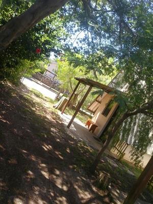 Cabaña 3cuadras Playac/ Garage,parrillero Parada Bus Puerta