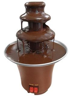 Fuente De Chocolate Caliente Fondue Ideal Cumpleaños 220v