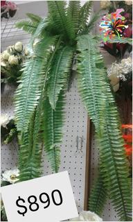 Planta Interior Artificial Helecho Colgante Gigante