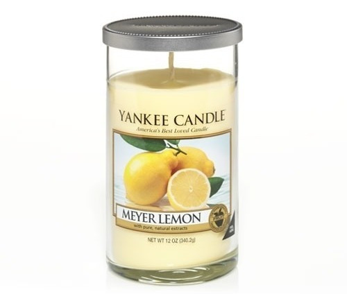 Vela Aromática Perfect Pillar Meyer Lemon Yankee Candle