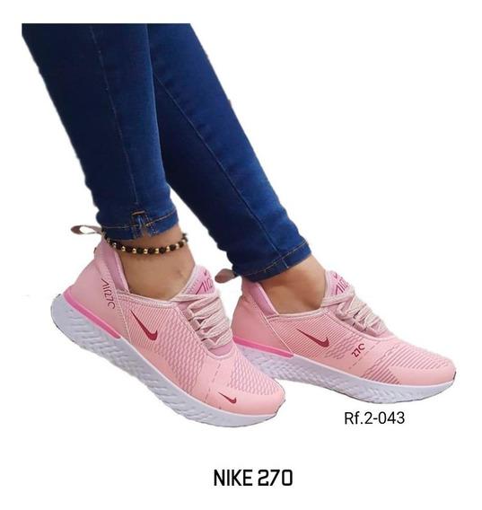 zapatillas mujer nike casual rosa