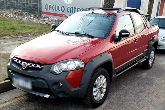 Fiat Strada 1.6 Adventure Ce Pack Top Locker!!!!!