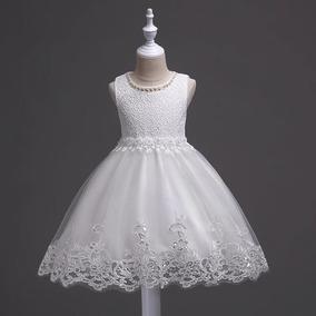 e3534ebb4 Delicado Vestido De Fiesta Para Niña Bebe 2 Años!