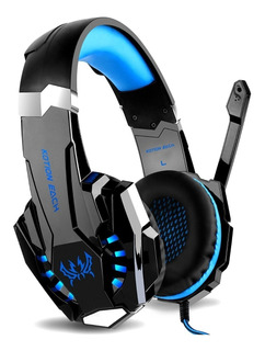Auricular Gaming Kolke Dragon Series Gamer 7.1 Microfono Led