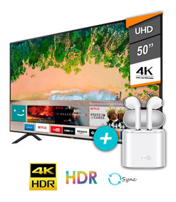 Tv Samsung Smart Led 50 Uhd 4k Gtia Oficial + Auric Inalam