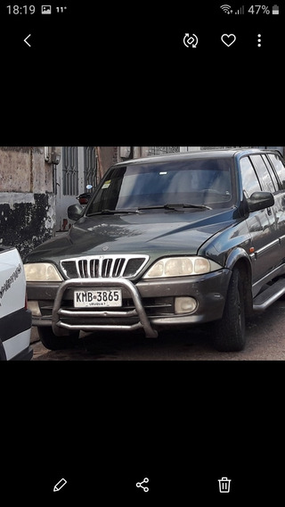 Ssangyong Musso 2.3 4x4 Año 2001