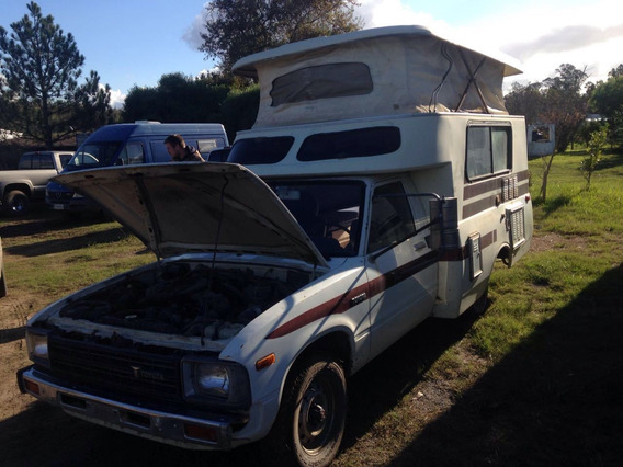 Toyota Hilux Camper Original Americana Año 81 Impecable !!!!