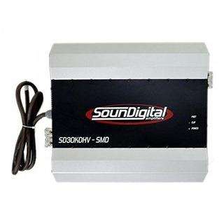Sd30kdhv1ohm Sound Digital 30000w 1channel 1ohm Set
