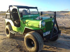 Jeep Willys Cj3 Diesel Con Isuzo 2.4 Al Dia E Exonerado