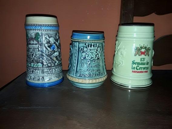Jarra De La Semana De La Cerveza 12, 13 , 15 Año 77,78,80