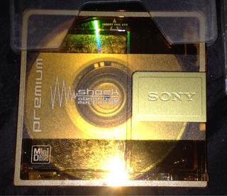 Minidisc Sony Regrabable Muuuuuchas Veces