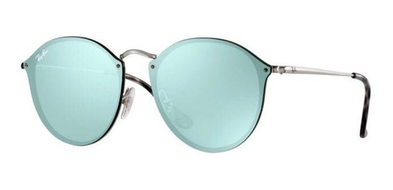 Lentes De Sol Ray-ban Round Blaze Collection |new - Garantia