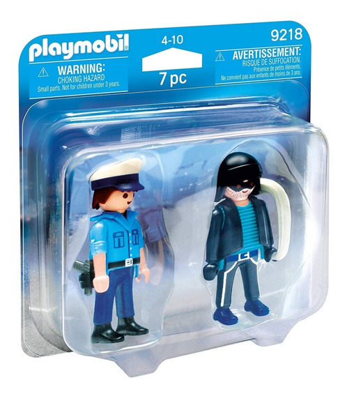 Duo Pack Ladron Y Policia - Playmobil 49218