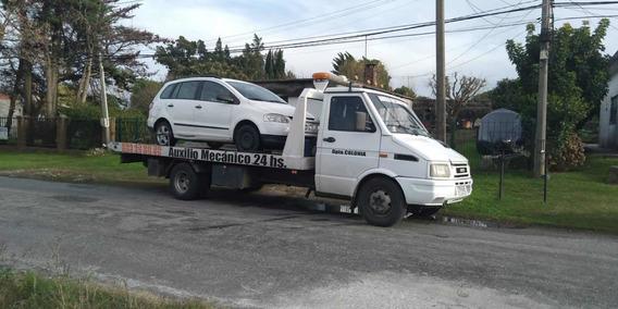 Camion De Auxilio Mecanico Marca Iveco Daily 4912 Año 2002