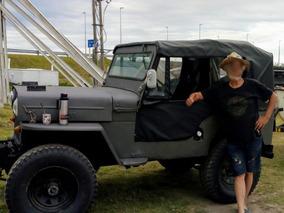 Jeep Willys Cj 3b Hurricane Excelente