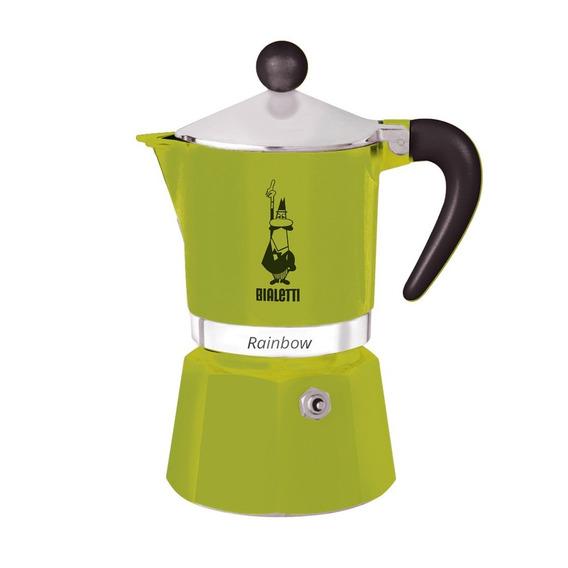 Cafetera Bialetti Moka Verde 3 Tazas