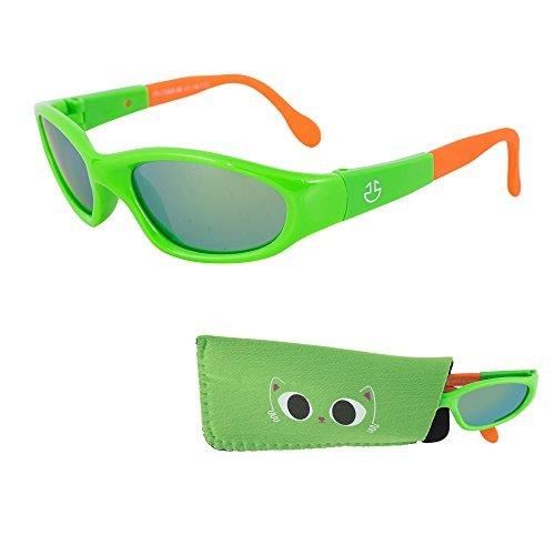 3726110a81 Gafas De Sol Revo Para Bebés Lentes Con Espejo Verde Que