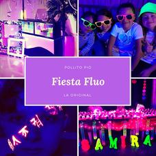 Fiesta Fluo, Barra Movil, Animación, Karaoke, Disco, Matinee