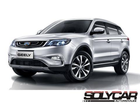 Geely Emgrand X7 Sport 162cv 2019 0km! Desde U$s 24.990.-
