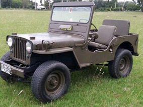 Jeep Cj3a Willys