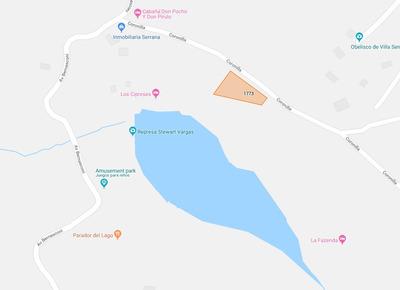 Terreno En Frente Del Lago, Presa, Y Parque - Villa Serrana