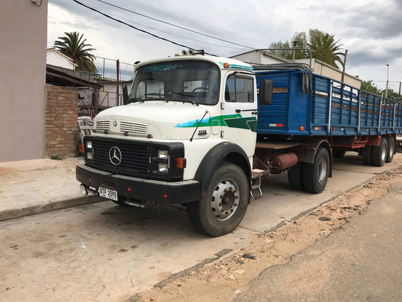 Mercedes-benz Mb 1318, Con Semi