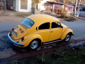 Fusca Escarabajo 2 Dueños Flamante Posible Permuta