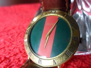 Vendo Reloj Gucci Caballero Quartz Mod 3000.2.m Enchape Oro