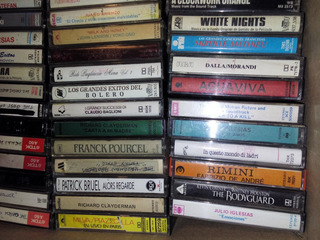 Cassettes De Audio Originales Y Grabados
