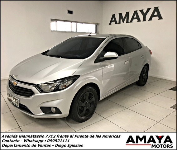 Chevrolet Prisma Ltz Sedan Impecable Estado 2017 ! Amaya