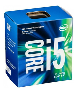 Procesador Cpu Intel Core I5 7400 Socket 1151 7ma Gen