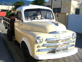 Dodge De Soto Caminhão 1950 Em Excelente Estado