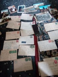 Postales Antiguas Alemania Con Sellos De Alemania