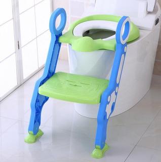 Adaptador Para Inodoro Baby Weels Verde Más Azul
