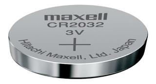 Pila Botón Maxell Japón Cr2032 L14 3v Controles Motherboard