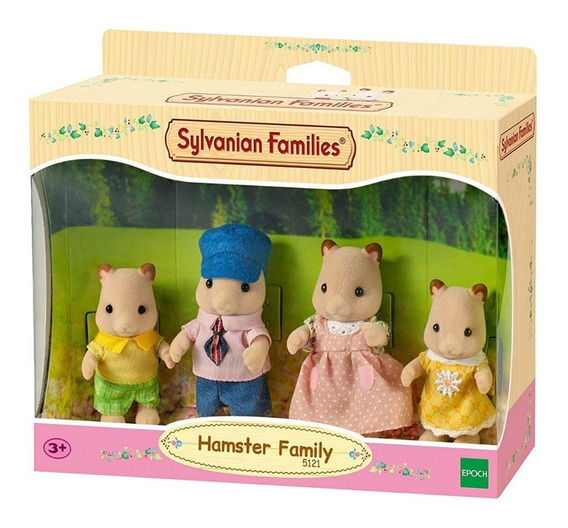 Sylvanian Families - Hamster Family (5121)