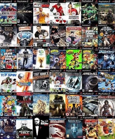 Pack De 10 Juegos A Eleccion Ps2 (rg)