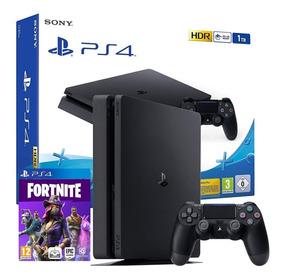 Ps4 Playstation 1tb Nueva+80juegos+fortnite+pes2019 Chitogam
