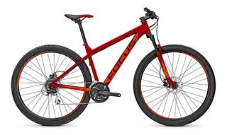 Bicicleta Montaña Focus Whistler Core 29 Rojo 21g