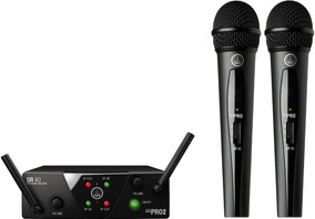 Microfono Inalambrico Akg Wms40mini 2 Microfonos