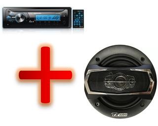 Combo Radio North Tech Bluetooth + Parlantes Tx Audio 5¨260w