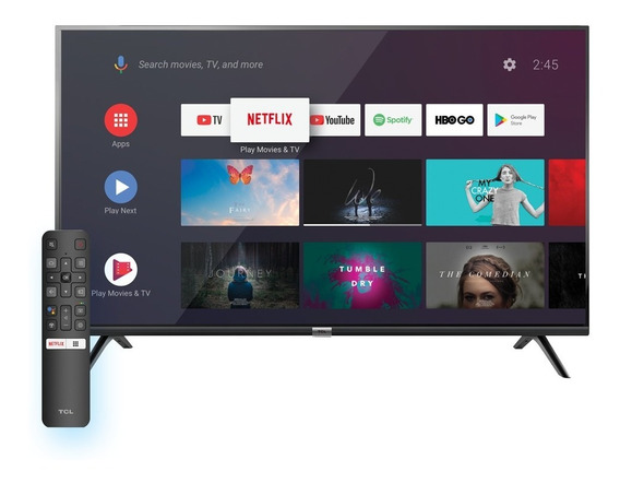 Smart Tv Android Tcl 40 Wifi Bluetooth Youtube Netflix Fhd