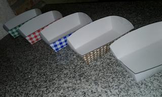Bandeja De Cartulina - Catering