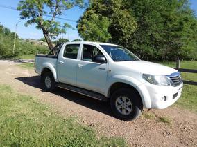 Toyota Hilux 2.7 Cd Srv Vvti 4x4 2013