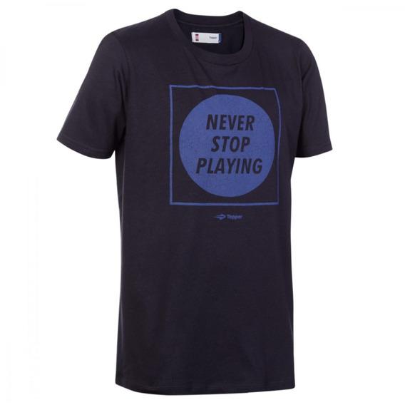 Camiseta Remera Topper Para Adulto Algodón Urbano Casual