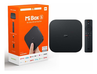 Android Tv Box Xiaomi Mi Box S Wifi 4k Tv Smart 2gb 8gb Amv
