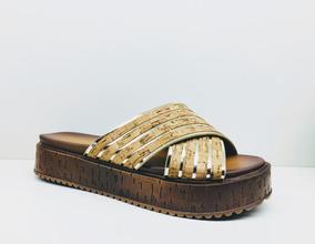 Sandalias Plataforma Moda Verano